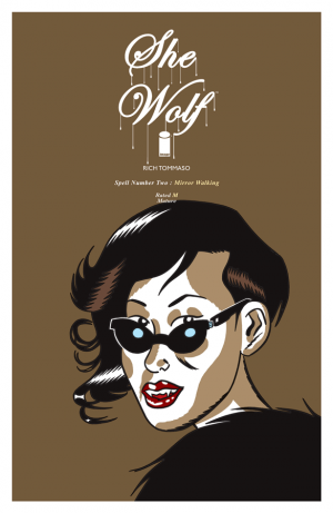 Cover for She Wolf #2 (2016)