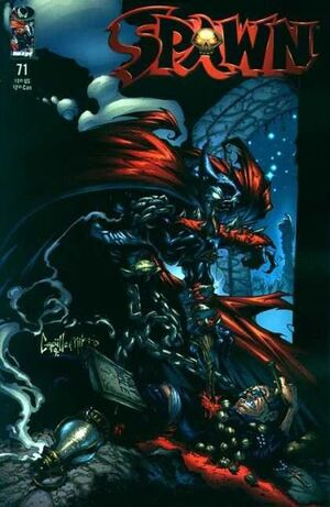 Cover for Spawn #71 (1998)