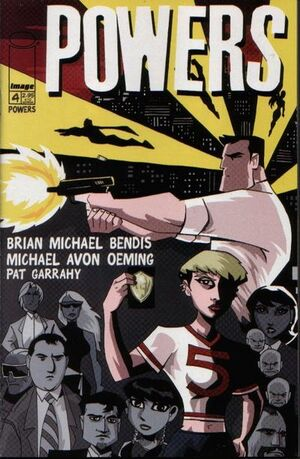 Cover for Powers #4 (2000)