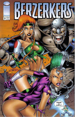 Cover for Berzerkers #2 (1995)