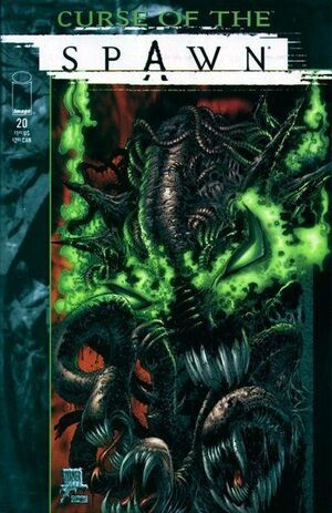 Cover for Curse of the Spawn #20 (1998)