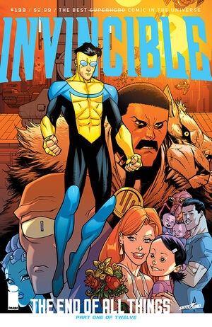 Cover for Invincible #133 (2017)