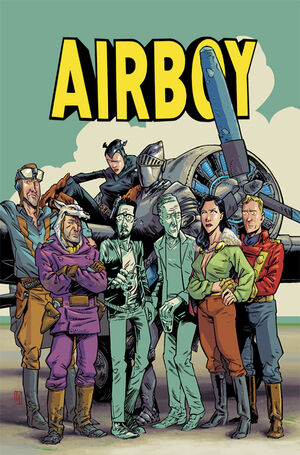 Cover for Airboy #3 (2015)