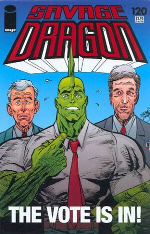 Cover for Savage Dragon #120 (2005)