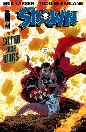 Cover for Spawn #260 (2016)