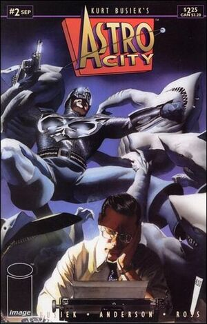 Cover for Astro City #2 (1995)