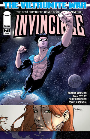 Cover for Invincible #71 (2010)