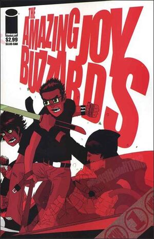 Cover for Amazing Joy Buzzards #1 (2005)