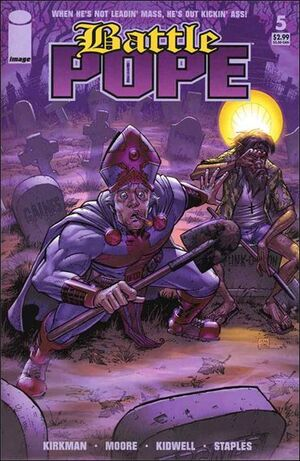 Cover for Battle Pope #5 (2006)