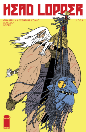 Cover for Head Lopper #1 (2015)