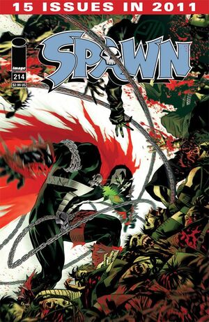 Cover for Spawn #214 (2011)