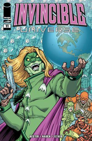 Cover for Invincible Universe #11 (2014)