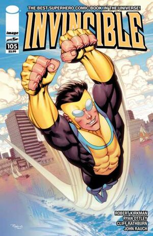 Cover for Invincible #105 (2013)