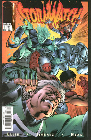 Cover for StormWatch #3 (1997)