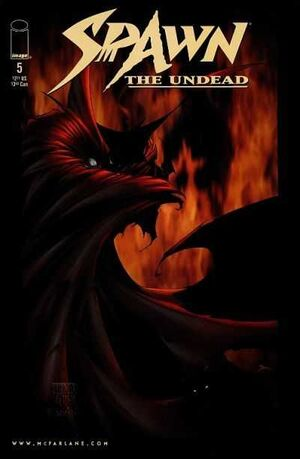 Cover for Spawn: The Undead #5 (1999)
