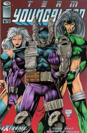 Cover for Team Youngblood #4 (1993)