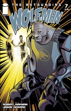 Cover for Astounding Wolf-Man #7 (2008)