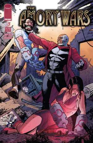 Cover for The Amory Wars #2 (2007)