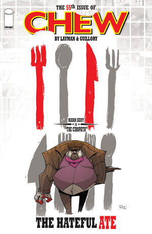 Cover for Chew #55 (2016)