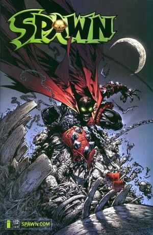 Cover for Spawn #112 (2001)