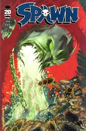 Cover for Spawn #215 (2012)