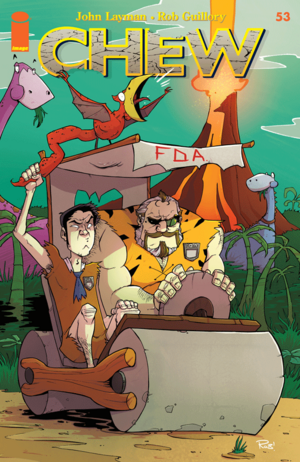 Cover for Chew #53 (2015)