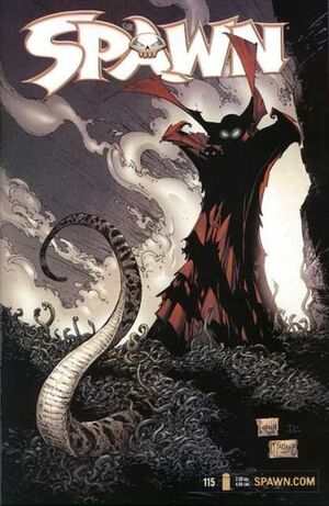 Cover for Spawn #115 (2001)