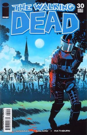 Cover for The Walking Dead #30 (2006)