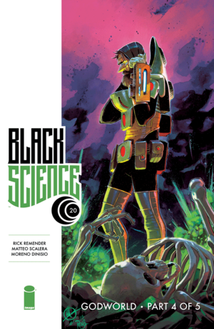 Cover for Black Science #20 (2016)