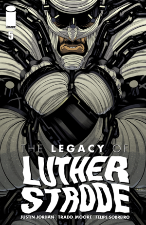 Cover for The Legacy of Luther Strode #5 (2016)
