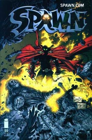 Cover for Spawn #99 (2000)