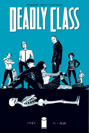 Cover for Deadly Class #1 (2014)