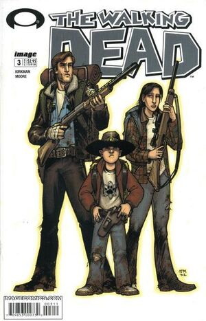 Cover for The Walking Dead #3 (2003)