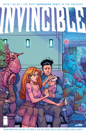 Cover for Invincible #119 (2015)