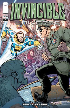 Cover for Invincible Universe #6 (2013)