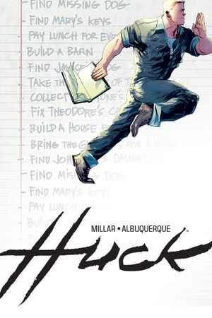 Cover for Huck #2 (2015)