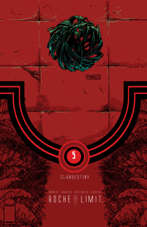 Cover for Roche Limit: Clandestiny #5 (2015)