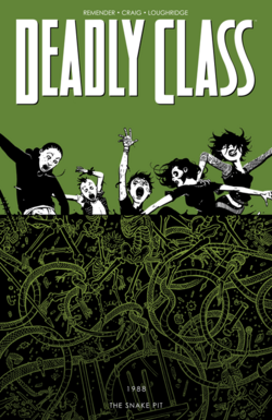 Cover for the Deadly Class TPB 3 Trade Paperback