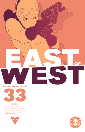 Cover for East of West #33 (2016)
