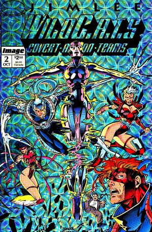 Cover for WildC.A.T.s #2 (1992)