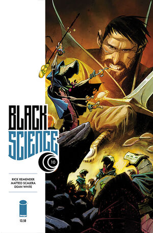 Cover for Black Science #10 (2014)