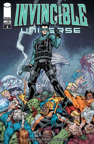 Cover for Invincible Universe #4 (2013)