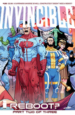 Cover for Invincible #125 (2015)