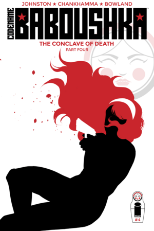 Cover for Codename Baboushka: The Conclave of Death #4 (2016)