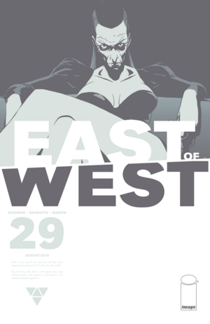 Cover for East of West #29 (2016)