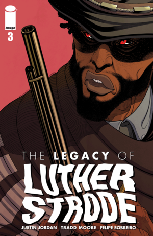 Cover for The Legacy of Luthor Strode #3 (2015)
