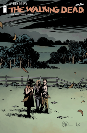 Cover for The Walking Dead #147 (2015)