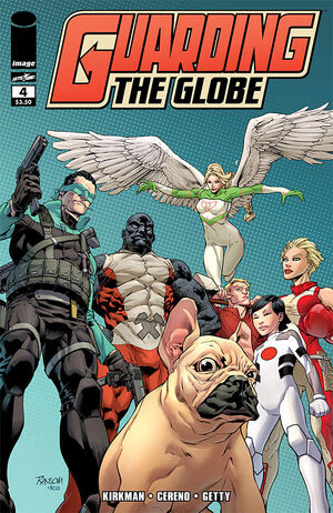 Cover for Guarding the Globe #4 (2011)
