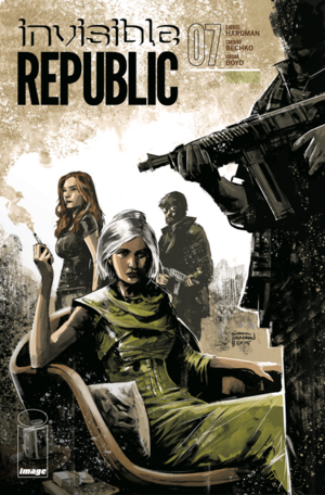 Cover for Invisible Republic #7 (2015)