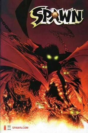 Cover for Spawn #111 (2001)